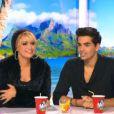 La chanteuse Lââm dans Le Mag sur NRJ 12, le 11 décembre 2013.