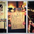 Rockmond Dunbar félicité pour la naissance de sa fille par ses collègues du Mentalist - décembre 2013