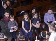 Mary et Frederik de Danemark: Leurs quatre enfants bien sages au concert de Noël