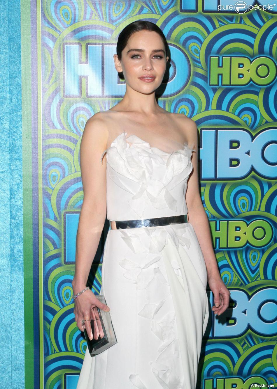 Emilia Clarke à West Hollywood, le 23 septembre 2013.