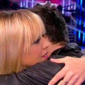 Nouvelle Star 2014 - Enora Malagré : Câline, elle réconforte Hugo, en larmes
