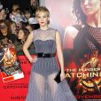 Jennifer Lawrence (habillée en Dior Haute Couture) à Los Angeles, le 18 novembre 2013.