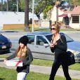 Denise Richards et sa fille Sam Sheen à Los Angeles, le 22 décembre 2013.