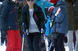 Victoria de Suède blessée au ski : Béquilles et famille pour la mère d'Estelle