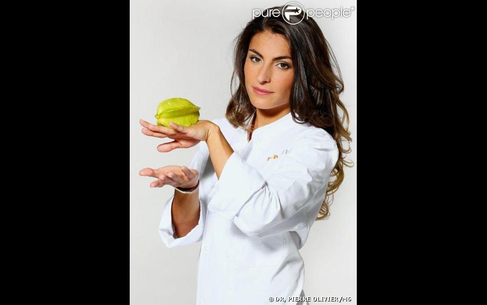Jennifer Taieb - Candidat de Top Chef 2014. L'émission sera de retour le 20 janvier sur M6.