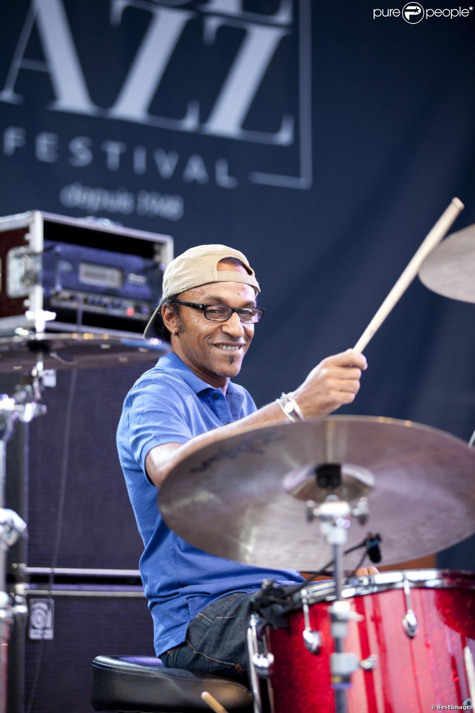 Manu Katché en concert à Nice le 10 juillet 2013