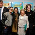 Bernadette Chirac, David Douillet, Billy, Anne Barrère, Amaury Vassili et Yoann Fréget - lancement de la 25e opération Pièces jaunes à l'hôpital Necker-Enfants malades à Paris le 8 janvier 2013.