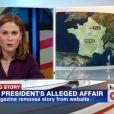 CNN évoquela supposée relation entre Julie Gayet et François Hollande avec Christine Ockrent
