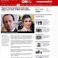 CNN.com parle dela supposée relation entre Julie Gayet et François Hollande