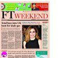 Le Financial Times (UK) évoque la supposée relation entre Julie Gayet et François Hollande