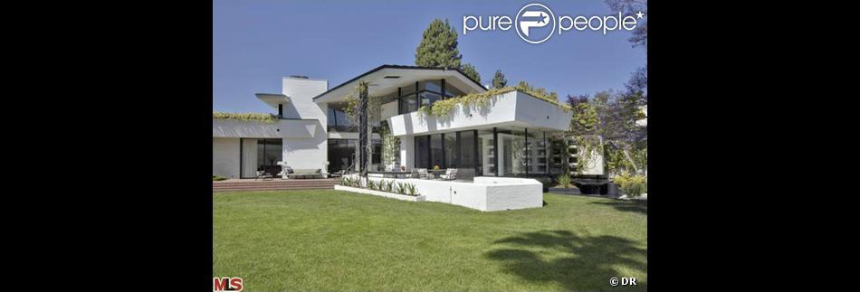 La superbe nouvelle maison d'Ellen DeGeneres à Los Angeles achetée en janvier 2014.