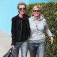 Ellen DeGeneres et Portia De Rossi à Los Angeles, le 15 novembre 2013.
