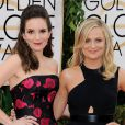 Tina Fey et Amy Poehler aux Golden Globe Awards à Los Angeles, le 12 janvier 2014.