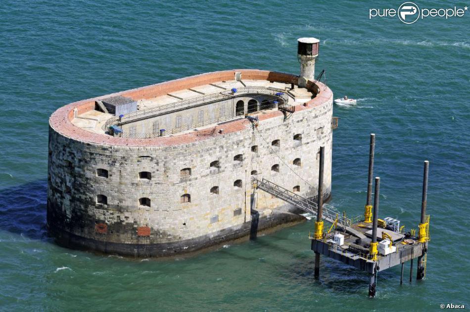 Le fort boyard en charente maritime