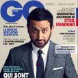 Cyril Hanouna en couverture de GQ