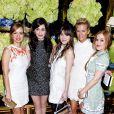 Une belle brochette de modeuses assiste à l'inauguration de la nouvelle boutique de leur amie Tory Burch à Los Angeles le 14 janvier 2013
