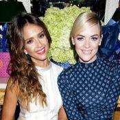Jessica Alba, Molly Sims, Jamie King... en beauté pour fêter la mode