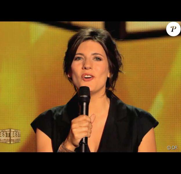 Estelle Denis, très en beauté (The Best - émission du vendredi 6 septembre 2013)