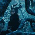 Angelina Jolie effrayante dans le film Maléfique.