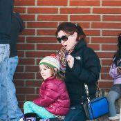 Alyson Hannigan, maman investie : Elle chouchoute ses adorables Satyana et Keeva