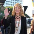 Katherine Heigl sur le plateau de l'émission Extra à Los Angeles le 10 janvier 2014