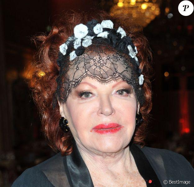 Régine pour son gala pour les Puits du Désert à Paris le 19 novembre 2013.