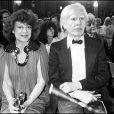 Régine et Andy Warhol