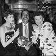 Régine, Sammy Davis Jr et Sylvia Kristel