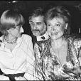 Régine, Françoise Sagan et Jean-Claude Brialy.