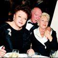 Régine, Eddy Barclay et Line Renaud
