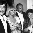 Régine, Alain Delon, Mireille Darc et Sean Connery