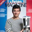 Arnaud Montebourg pose en marinière pour le Parisien Magazine, le 19 octobre 2012.