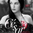Affiche de la 39e cérémonie des César qui se déroule le 28 février 2014 à Paris - Isabelle Adjani dans La Reine Margot de Patrice Chéreau