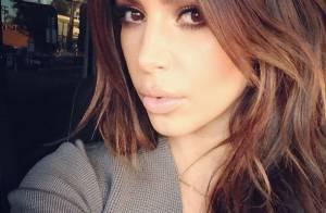 Kim Kardashian, de nouveau brune : Fini le blond, elle change de visage