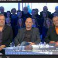 Didier Bourdon, Bernard Campan et Pascal Légitimus, alias les Inconnus, sont les invités de l'émission Salut les Terriens sur Canal+ le 1er février 2014