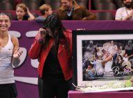 Marion Bartoli : Les larmes de l'ancienne joueuse lors d'un hommage émouvant