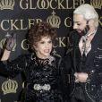 Gina Lollobrigida fête ses 20 ans d'amitié avec le créateurHarald Glööcklerà Berlin en Allemagne le 4 février 2014
