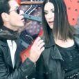 Laura Pausini et Marc Anthony sur le titre Se fué.