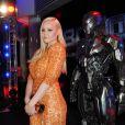 Abbie Cornish lors de la première de RoboCop au BFI IMAX, Waterloo, Londres, le 5 février 2014.