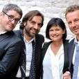André Manoukian, Sinclair, Olivier Bas et Maurane, les jurés de la Nouvelle Star en septembre 2012.