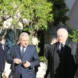Jean-Louis Camporaaux obsèques de Michel Pastor en l'église Saint-Charles à Monaco le 6 février 2014.