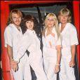 ABBA à Londres, avril 1989.