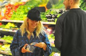 Rita Ora et Calvin Harris : Amoureux inséparables... même au rayon légumes !