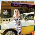 Rita Ora dans la nouvelle campagne de publicité pour Material Girl, printemps-été 2014.
