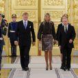 Vladimir Poutine avait reçu le 9 novembre 2013 le roi Willem-Alexander et la reine Maxima des Pays-Bas au Kremlin, à Moscou.