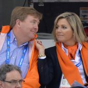 Sotchi 2014 : Maxima et Willem-Alexander des Pays-Bas, folie orange et or