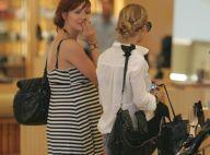 PHOTOS : Nicole Richie et Ashlee Simpson très enceinte, shopping entre amies à L.A. !