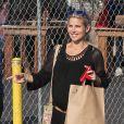 Exclusif - Elsa Pataky (enceinte) va faire des courses à Pasadena, le 9 février 2014.