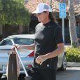Bruce Jenner dans les rues de Malibu, le 18 janvier 2014.