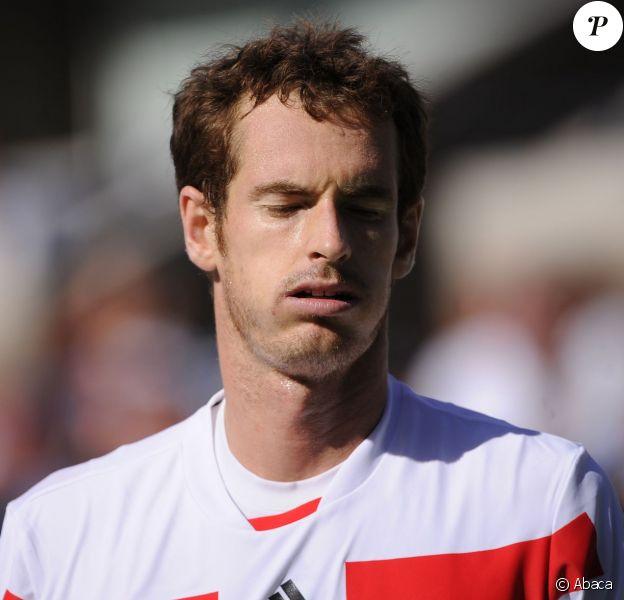 Andy Murray après sa défaite en quart de finale à l'US Open à Flushing Meadows, à New York le 5 septembre 2013